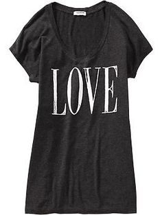 layering graphic tees - Women's Dolman-Sleeve Graphic Tees | Old Navy