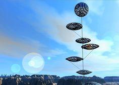 pretty solar balloons