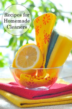 Stop paying big money for common ingredients and start making your own homemade cleaners for big savings. Try these recipes for Extra Strength Multi-Purpose Cleaner, Scouring Powder, Dust and Furniture Polish, and more!