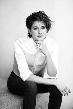 Шейлин Вудли — Фотосессия для «Nylon» 2015 – 3