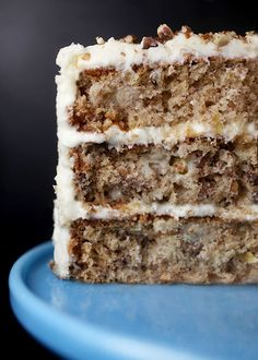 Hummingbird Cake - sounds really yummy - kind of like carrot cake but with bananas...