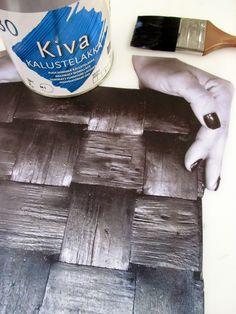 VMSomⒶ KOPPA: Kuvansiirto KIVA-kalustelakan avulla Altered Books, Class Ring, Art Projects, How To Make, Image Transfers, Crafts, Diy, Inspiration, Ideas