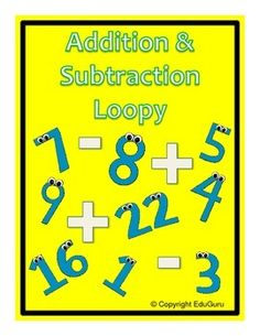 Addition and Subtraction Loopy Game is a WINNER in my mathematics classroom!My students mental mathematics skills have and is still improving ever since we started playing this game.The product provides 2 sets with 24 cards in a set (A total of 48 cards).
