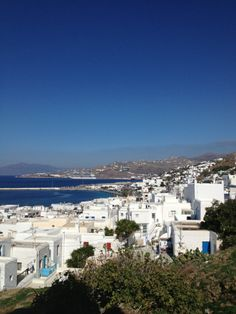 Probably one of the most picturesque places I have ever been....picture Greece in your mind, and this is it!