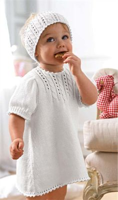 Baby dress by Bergere de France