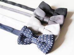Knitted Bow Ties  Men Boys Bow Tie