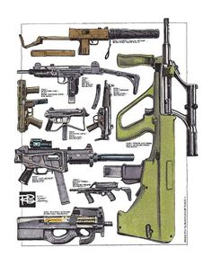 Robert Burrows - Modern Submachine Guns