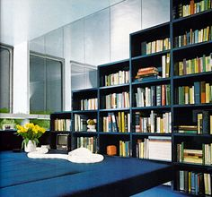 Stepped bookshelves. Storage, A House and Garden Book, Melinda Davis, Pantheon Books, New York, 1978.