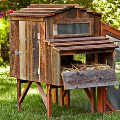 Simple DIY Chicken Coop designs you can build for your backyard chickens Chicken Coop Plans Design No. Chicken Coop Designs, Easy Chicken Coop, Diy Chicken Coop Plans, Portable Chicken Coop, Backyard Chicken Coops, Building A Chicken Coop, Chicken Runs, Chickens Backyard, Chicken Life