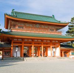 Heian Jingu, Kyoto, Japan. [Heian period]