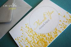 How Sweet personalized thank you cards set of by InvitaPaperStudio, $29.00