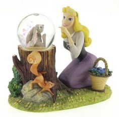 Disney sleeping beauty Aurora snowglobe