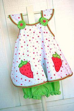 Strawberry sundress by iveyc95, via Flickr