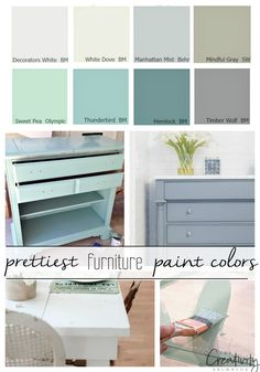 16 Of The Best Paint Colors For Painting Furniture Pick A Paint