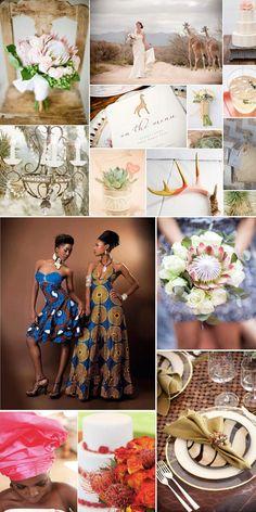 ideas for an african wedding Safari Wedding, Chic Wedding, Wedding Styles, Our Wedding, Dream Wedding, Wedding Things, Summer Wedding, Afro Chic, African Theme