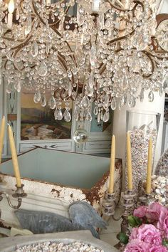 Shabby Chic Home .shabby and vintage chic Casas Shabby Chic, Shabby Chic Vintage, Shabby Chic Style, Shabby Chic Decor, Rustic Decor, Vintage Cafe, Vintage Soul, Vintage Glamour, Boho Chic