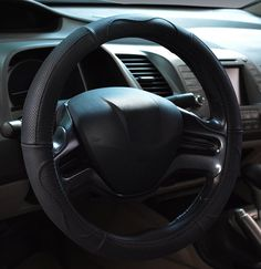 Steering wheel covers come with a range of benefits. Firstly, they help protect the steering wheel from damage such as scratches, abrasions, cigarette Interior Accessories, Car Accessories, Jeep Bumpers, Car Steering Wheel Cover, Tonneau Cover, Car Covers, Cool Things To Buy, Like4like, Leather