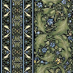 A William Morris pattern. Love that Arts Crafts style. William Morris Patterns, William Morris Art, Art Nouveau, Art Deco, Of Wallpaper, Designer Wallpaper, Edward Burne Jones, Art Chinois, Art Japonais