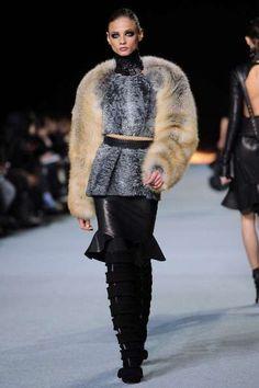 Photos of Kanye West Fall 2012 (Via: fashionista)
