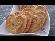 Cómo hacer Palmeritas de Hojaldre | LHCY - YouTube Mexican Sweet Breads, Mexican Bread, Mexican Food Recipes, Sweet Recipes, Guava Pastry, Mexican Bakery, Venezuelan Food, Chilean Recipes, Sweet Bar