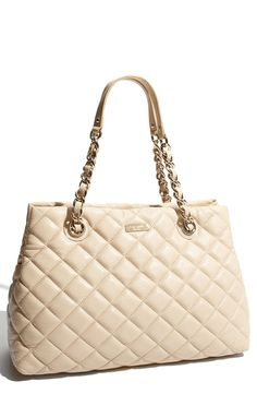 kate spade new york | 'gold coast - maryanne' quilted leather shopper $478.00