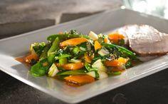 Asian Vegetable Stir-Fry with Sesame Chili Orange Sauce