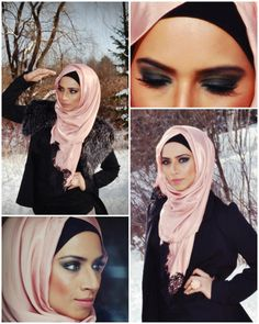 I like the way she did her scarf