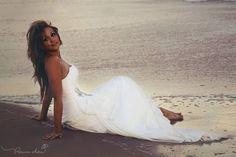 Trash the dress, beach wedding, bridals