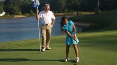 July 4, 2012    Eubanks: Little Girl Golfer.  My wife and I went to China to get a daughter. Getting a golfer was a bonus.
