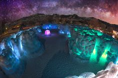Midway Ice Castles, Utah