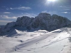 #Presolana is a mountain located in #Lombardy, northern #Italy, about 35 km north of #Bergamo.