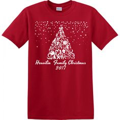 501056d073 Celebrate Christmas in custom style with matching pajamas or matching  shirts for the entire family. Our personalized Christmas Gift Tree Pajamas  feature a ...