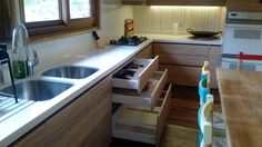 Muebles en melamina Olmo Alpino