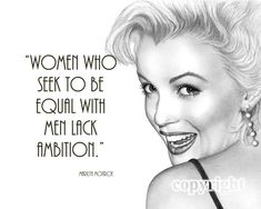 The more I learn about Marilyn, the more I like her!