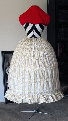 Picture of Sewing Your Custom Drafted Hoop Skirt