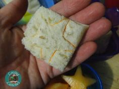 Loving Lunches: Starry Lunch repurpose cookie cutter as sandwich stamp with FooDoodlers