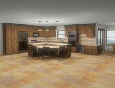 Kitchen Island, Kitchen Cabinets, America, Design, Home Decor, Island Kitchen, Decoration Home, Room Decor, Cabinets