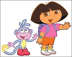 Dora is a household name and her name comes up a lot in ours. JJ loves to watch Dora and her cousin Diego and all of their adventures. Cartoon Coloring Pages, Animal Coloring Pages, Free Coloring Pictures, Brisbane Kids, Alvin And The Chipmunks, Dora The Explorer, Activity Sheets, Coloring Pages For Kids, Kids Coloring
