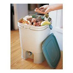 Bokashi System. Indoor, smell-free, composter.