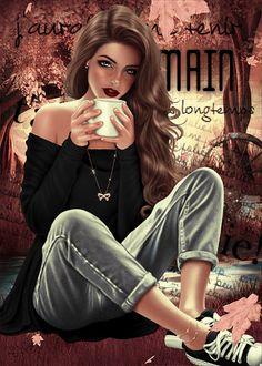 Mimi Gif: Hello Autumn Mimi Gif: Hello Autumn Source by beautiful gif Cartoon Girl Images, Girl Cartoon, Beautiful Gif, Beautiful Girl Image, Girl Pictures, Girl Photos, Cute Girl Drawing, Beautiful Girl Drawing, Foto Top