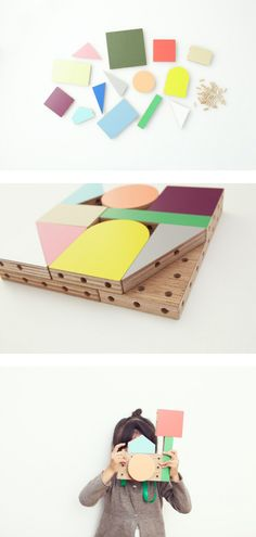 Wooden Blocks by Torafu architects, kids toys, imagination at work