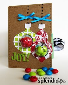 Gift Card Holder to make.. cute with a lil candy surprise, too!