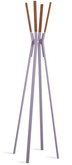 One of our current favorites, the Splash Coat Rack is now available in the exquisite lilac hue.