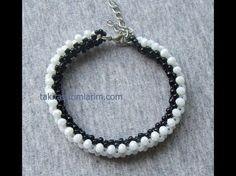 Beaded Bracelets Tutorial, Necklace Tutorial, Beaded Wrap Bracelets, Handmade Bracelets, Cuff Bracelets, Beading Techniques, Beading Tutorials, Diy Jewelry, Beaded Jewelry
