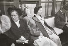1946:  Riding the New York City Subway by Stanley Kubrick