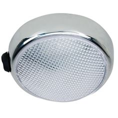 Perko Round Surface Mount LED Dome Light - Chrome Plated - w-Switch [1356DP0CHR]