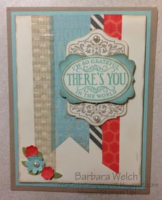 Creative Stampin' Spot: Convention 2013. Stampin Up card. Chalk Talk.
