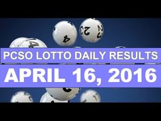 PCSO Lotto Results Today, April 16, 2016 Plus Next Draw Lotto Tips - http://LIFEWAYSVILLAGE.COM/lottery-lotto/pcso-lotto-results-today-april-16-2016-plus-next-draw-lotto-tips/