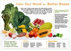 Color for Bone Health