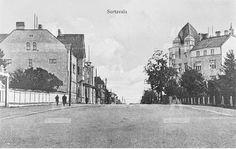 Katunäkymä Sortavalasta. 1920-luku